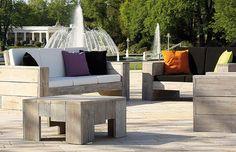 Bestellen Sie diese Dekokissen zusammen mit unseren WITTEKIND Lounge Möbeln (Ecksofa, 3er und 2er Sofa, Sessel und Tisch) und Sie erhalten eine ebenso edle wie moderne Kombination bester Gartenmöbel.