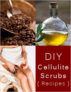 DIY Scrubs to Help Get Rid of Cellulite