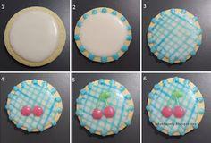 piruletaparty: galletas cerezas