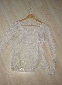 Zara, Creme, Shirts, Elegant, Sweaters, Fashion, Spinning Top, Reach In Closet, Lace