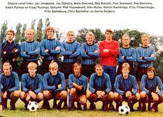 Equipos de fútbol: DWS AMSTERDAM 1970-71