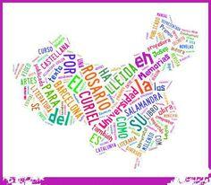 Nube de tags nacida de mi página web: www.rosariocuriel.com