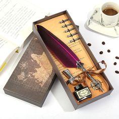 Retro Vintage, Vintage Pens, Dip Pen, Caravaggio, Pen Store, Metal Pen, Writing Pens, Pen Nib, Pen Sets
