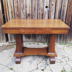 Mission library table this looks so much like my library table Mission Library, Library Table, Dining Table, Furniture Redo, Desks, Antiques, House Ideas, Home Decor, Style