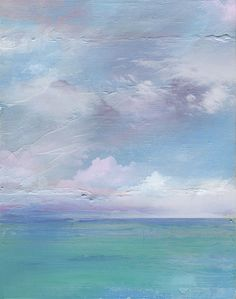 Seascape no. 5 sea ocean painting art gulf by PeripheralEnvisions, $10.00