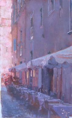 Bernie Fuchs (1932 - 2009)   Set for Dinner   Telluride Gallery