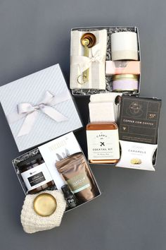 Curated Gift Boxes for holidays, birthdays and special events by Pumeli. #curatedgifts