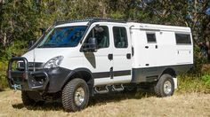 EarthCruiser Overland Vehicles Pty. Ltd will debut three Iveco Daily-based expedition vehicles this week.