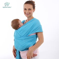 Breathable baby wrap and carrier backpack for infant