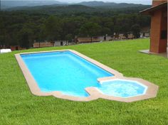 Piscinas on pinterest portugal pools and html for Modelos piscinas prefabricadas