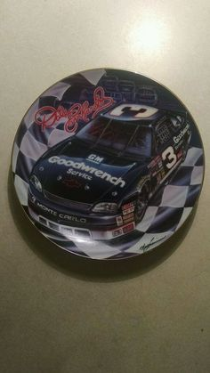 Dale Earnhardt Collectors Plate in Sports Mem, Cards & Fan Shop, Fan Apparel & Souvenirs, Racing-NASCAR | eBay