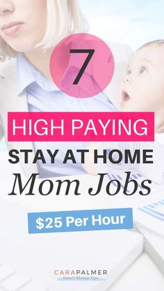 7 High Paying Stay at Home Mom Jobs Work From Home Careers, Start A Business From Home, Online Business, Make Money From Home, Way To Make Money, Earn Extra Money Online, Online Writing Jobs, Legitimate Online Jobs, Online Tutoring