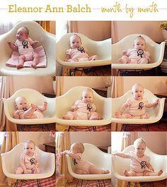 Le jardin de Juliette: Maandelijkse baby-foto: inspiratie!