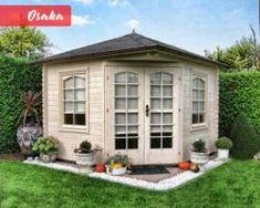 Záhradné domčeky | Môj Altánok Bilbao, Osaka, Monaco, Shed, Outdoor Structures, Pulley, Backyard Sheds, Coops, Barns