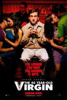 The 40 Year Old Virgin (2005)邦題・・ 40歳の童貞男