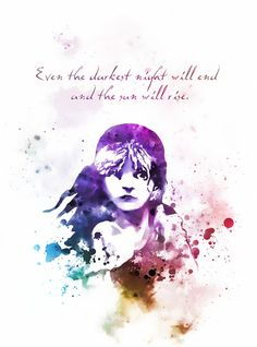 Les Miserables - One of my favorite musicals of all time. Every time I watch the concerts, or go to see the musical itself I get goosebumps. Musical Theatre Quotes, Broadway Quotes, Music Quotes, Book Quotes, Theater Quotes, Poetry Quotes, Miserable Quotes, Les Miserables Quotes, Romeo And Juliet Quotes