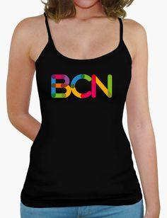BCN. Barcelona, ciudad internacional del diseño. Viste con estilo. Athletic Tank Tops, Women, Fashion, Barcelona City, Chemises, Colors, Style, Moda, Fashion Styles