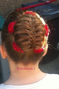 Love this - Fishtail braided bun by molliebanks5
