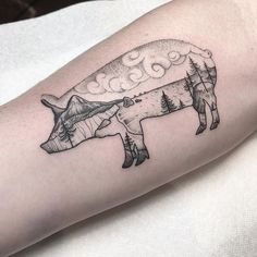 Hey, Friend's are you looking for pig tattoo designs for your body art. Then these tattoo collection for your here you will get some cool and unique collection of pig tattoo. Abstract Tattoo Designs, Tattoo Sleeve Designs, Tattoo Designs Men, Sister Tattoos, Dog Tattoos, Animal Tattoos, Thigh Tattoos, Cute Small Tattoos, Trendy Tattoos