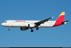 EC-JZM Iberia Airbus A321-212