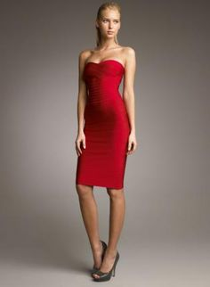 Red Cocktail Dress  http://www.ustrendy.com/store/product/33334/bqueen-strapless-bandage-dress-red-h041r