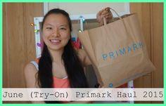June (Try-On) Primark Haul 2015   Asia Jade