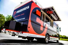 Freebirds World Burrito built by Cruising Kitchens the largest mobile business manufacturer in the world! Food Truck - Mobile Business - Build a Food Truck #FoodTruck #mobilebusiness #buildafoodtruck #iwantafoodtruck
