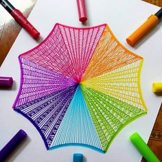 Precision in Geometric Mandala Drawings - Octagon by lady_meli_art - Doodle Art Drawing, Zentangle Drawings, Mandala Drawing, Cool Art Drawings, Zentangle Patterns, Pencil Art Drawings, Zentangles, Flower Drawings, Doodle Patterns