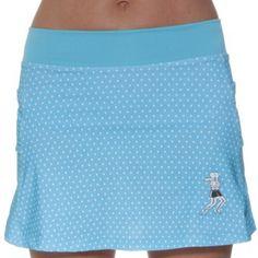 Azure Dot Running Skirt