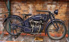 1921 Excelsior Motorcycle