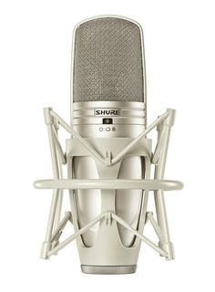 Shure KSM44A Multi-pattern Large Dual-Diaphragm Condenser Microphone - If you only need one studio mic, this is it. Shure's top-of-the-line large-diaphragm condenser delivers endless flexibility with a switchable polar pattern.