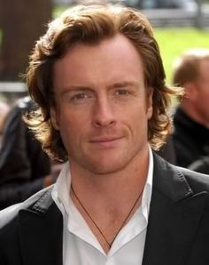Toby Stephens (son of Dame Maggie Smith - Dowager Countess Violet Grantham - Downton Abbey) good replacement for Mathew .dress him up in a kilt! British Men, British Actors, British Celebrities, Maggie Smith Son, Adam Campbell, Castle Movie, Toby Stephens, Ginger Men, Beards