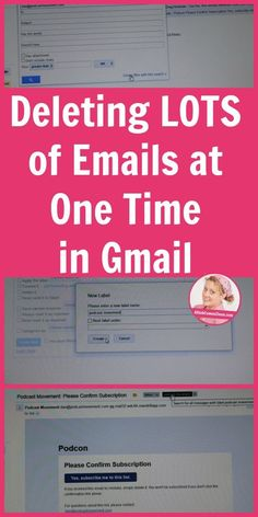 Deleting LOTS of Emails at One Time in Gmail. Learn my tricks here! hacks tech Deleting LOTS of Emails at One Time in Gmail Technology Hacks, Computer Technology, Technology Design, Technology Apple, Technology Quotes, Technology Wallpaper, Technology Background, Energy Technology, Technology Gifts