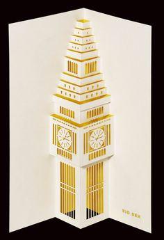 Big Ben pop-up. £5.99, via Etsy.
