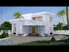 House Plans Kerala Style Below 1000 Square Feet (see description) Best Small House Designs, Square Feet, Kerala, House Plans, Mansions, House Styles, Home Decor, Decoration Home, House Plans Design