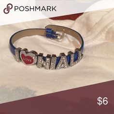 I love Niall from One Direction sparkly bracelet I love Niall from One Direction sparkly blue bracelet closes like a watch. Jewelry Bracelets