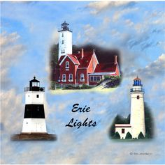 Erie Lights: the three lighthouses in Erie, Pa.
