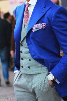 black blue brocade waistcoat - Google Search