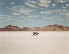 Richard Misrach: Chrysler Newport, Bonneville Salt Flats, Utah 1992