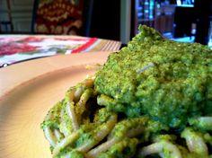 gluten free, vegan broccoli sauce