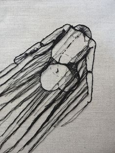 Embroidery - Thread sketches by Andrea Farina