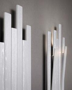 Wall-mounted coat rack SKI by Natevo