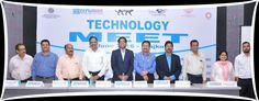 Team EEPC India with Senior officials at the Technolgy meet