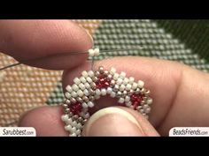 Video: Free Seed Bead Earring Patterns. #Seed #Bead #Tutorials