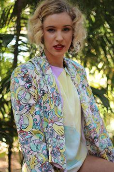 Spring/Summer 2013 // Joyce Cuda Kimono Top, Spring Summer, Blazer, The Originals, Tops, Women, Fashion, Moda, Women's