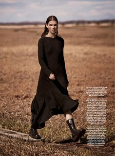 visual optimism; fashion editorials, shows, campaigns & more!: cover me: giedre dukauskaite by james macari for uk marie claire september 2014