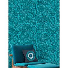 Buy Mini Moderns Paisley Crescent Wallpaper Online at johnlewis.com
