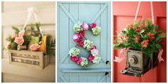 12 Beautiful Decorations to Hang on Your Door That Aren't Wreaths  - CountryLiving.com