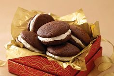 If they like chocolate whoopie pies (and they probably do!), imagine how much they'll like Triple-Chocolate Whoopie Pies!