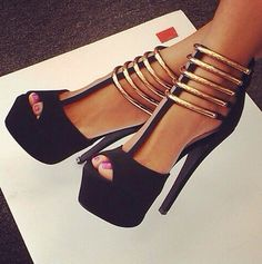 super cute heels #shoes #pumps